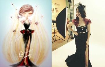 bespoke queenie chamber_evening gown_Cindy