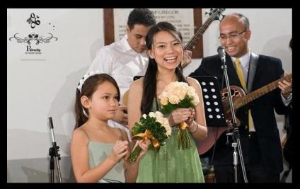 bridesmaids dress & flowergirl dress by MQ06