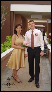 Shyue Chin in MQ06 dress