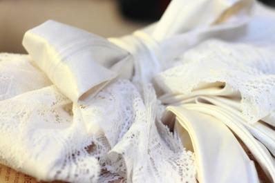 Bridal wear (Bow detail)