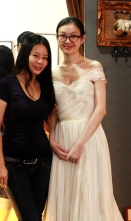 Queenie & beautiful bride
