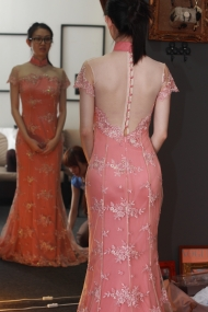 Qi pao gown