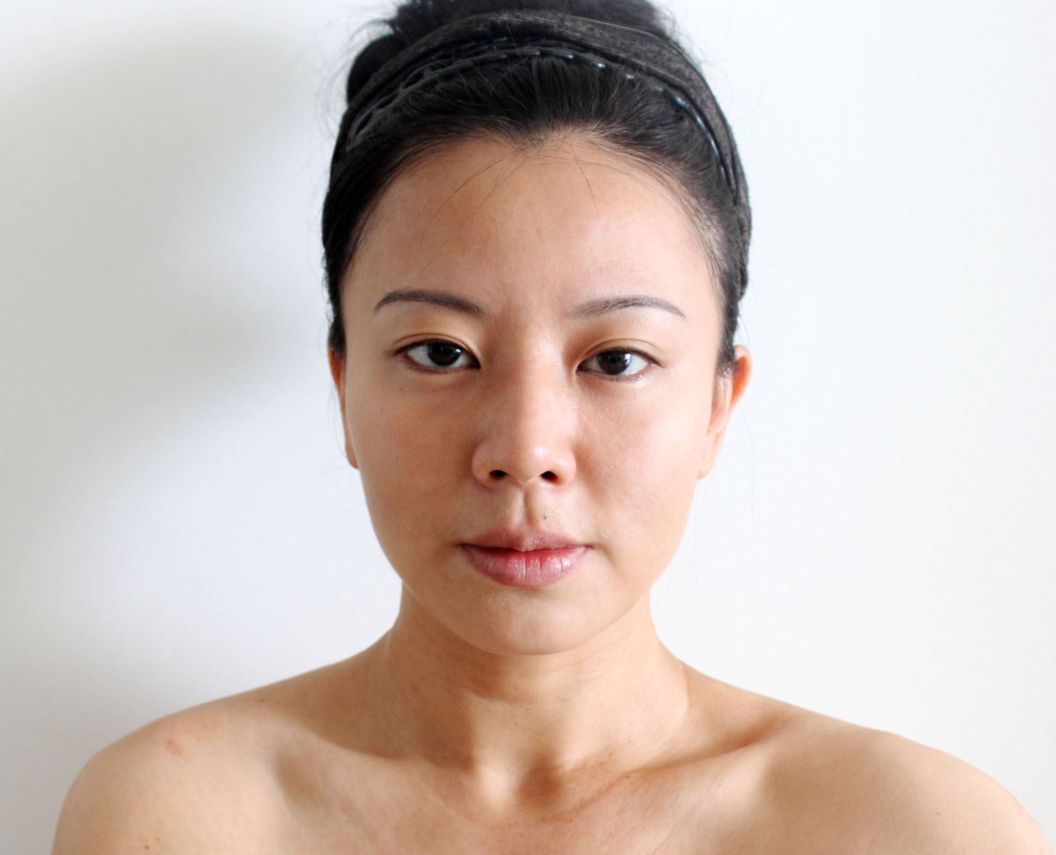 Women without makeup