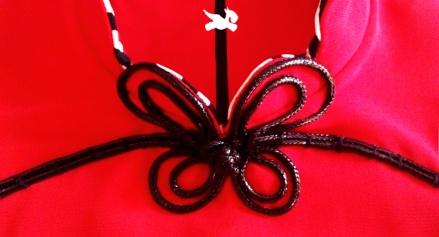 Cheongsam Collar Close Up Details