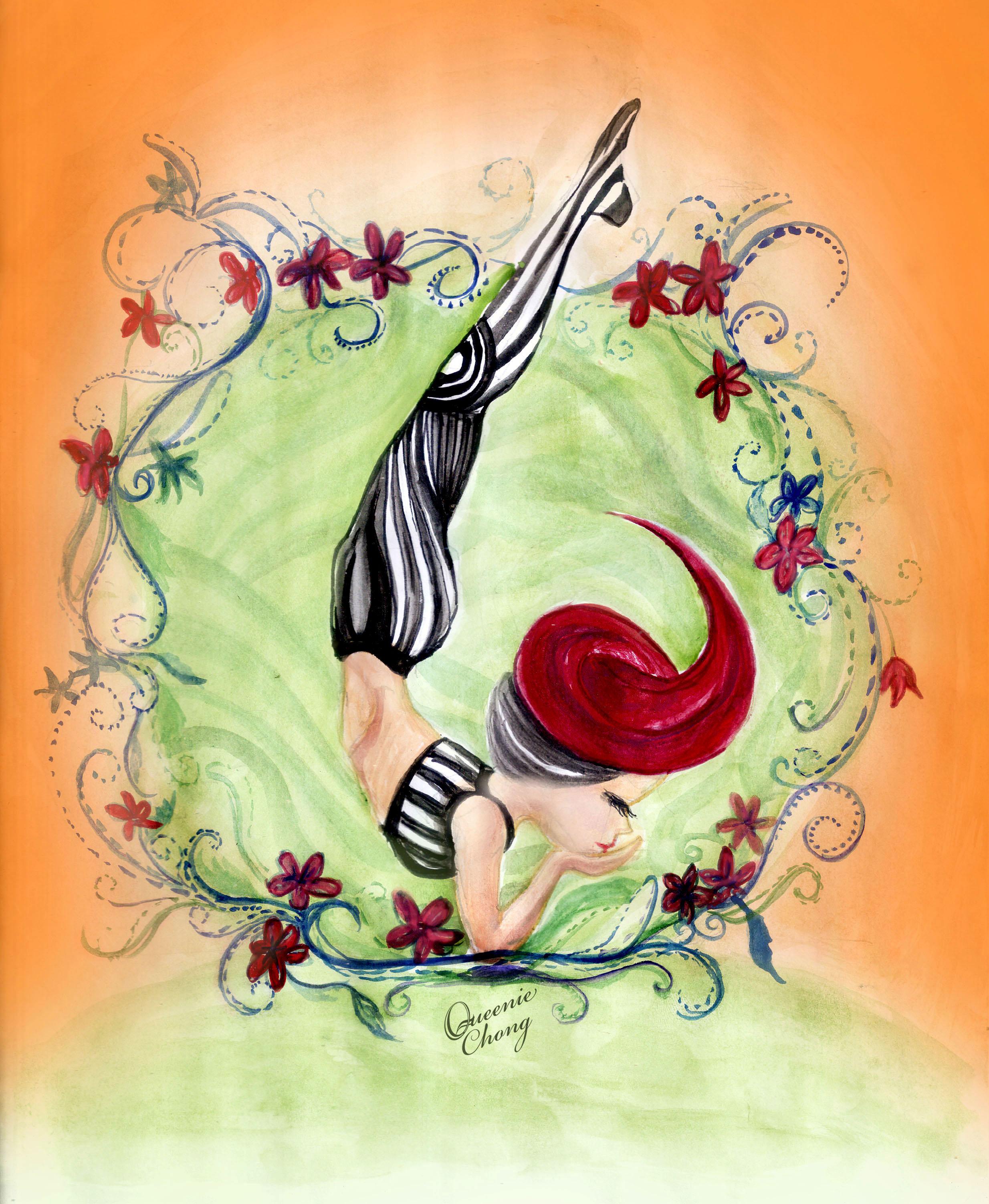 queenie_chamber_watercolor_yoga_05